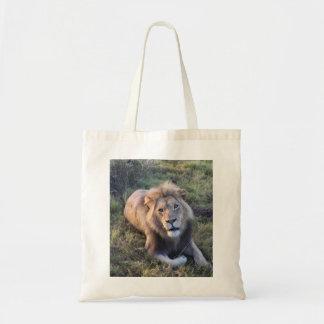 Volwassen leeuwbolsa draagtas