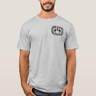 Volwassen - steek uw vrienden neer - Zwart logo T Shirt