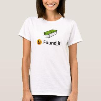 Vond het - het Pictogram van Geocaching Geocache T Shirt