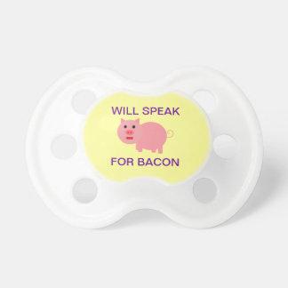 Voor Bacon zal spreken Fopspeentjes