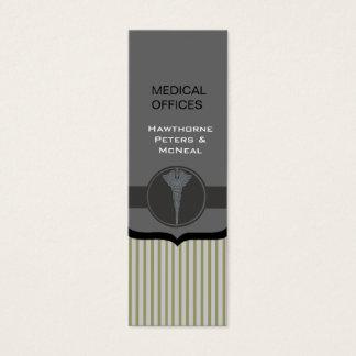 Voor de betere inkomstklasse Moderne Medische Mini Visitekaartjes
