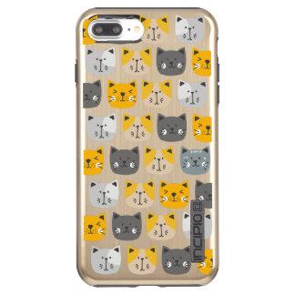 Voor de Liefde van Katten Incipio DualPro Shine iPhone 8/7 Plus Hoesje