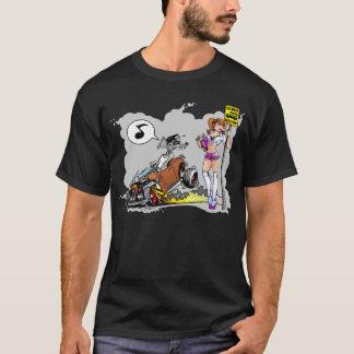 Voor de T-shirt van Rokken zal remmen