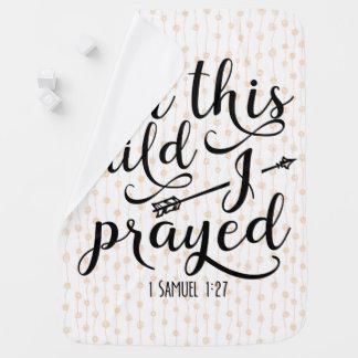 Voor Dit Kind dat ik - het Vers van de Bijbel heb Inbakerdoek