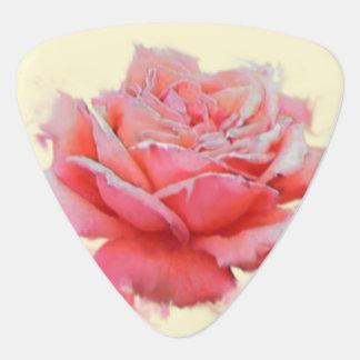 voor haar, nam een roze met naam toe plectrum