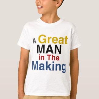 voor jongens en kind - een groot man in het maken t shirt