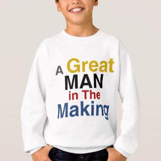 voor jongens en kind - een groot man in het maken trui