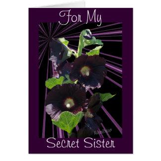 Voor Mijn Geheim zuster-pas om het even welke Wenskaart