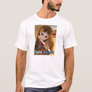 Voorbeeldgever (het Borstelen van de Aap Tanden) T Shirt