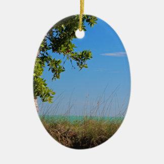 Voorbij de Knopen Keramisch Ovaal Ornament