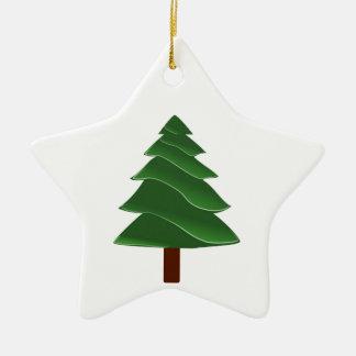 Voorbij de Pijnboom Keramisch Ster Ornament