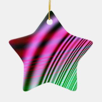 Voorbij en cadeau keramisch ster ornament