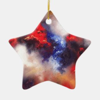 Voorbij Keramisch Ster Ornament