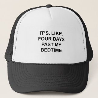 Voorbij Mijn Bedtijd Trucker Pet