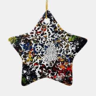 Voorbij Oneindig Keramisch Ster Ornament