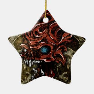 Voorbij Schedels Keramisch Ster Ornament