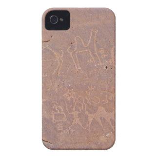 Voorhistorische Gesneden Tekeningen in de Woestijn iPhone 4 Hoesje