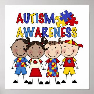 Voorlichting van het Autisme van het Cijfer van de Poster