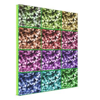Vooruitgang 1 van de Kleur van de klimop Verpakt Stretched Canvas Afdrukken