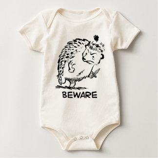 Voorzichtig zijn baby shirt