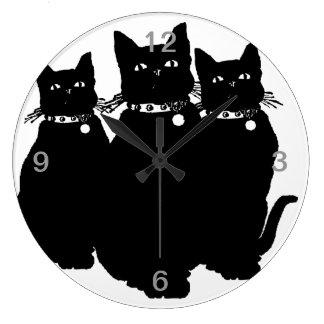 Voorzichtig zijn de Zwarte Kat Grote Klok