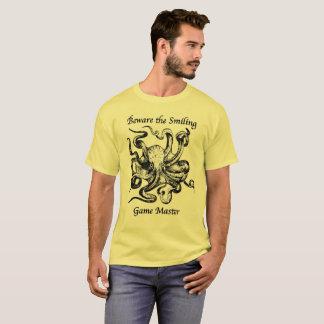 Voorzichtig zijn het het Glimlachen HoofdOverhemd T Shirt