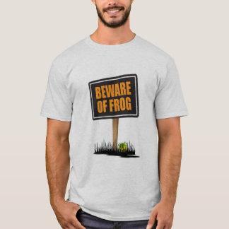 Voorzichtig zijn van Kikker T Shirt