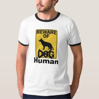 Voorzichtig zijn van Mens T Shirt