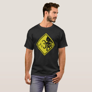 Voorzichtigheid Cthulhu T Shirt