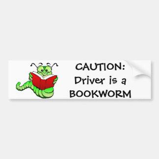 Voorzichtigheid: De bestuurder is een Sticker van