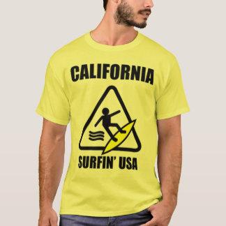 voorzichtigheid: natte vloer t shirt