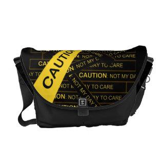 Voorzichtigheid niet Mijn Dag om te geven de Zak Messenger Bag