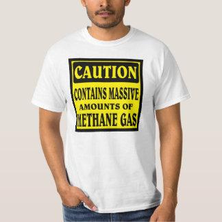 VOORZICHTIGHEID, Volledig van gas T Shirt