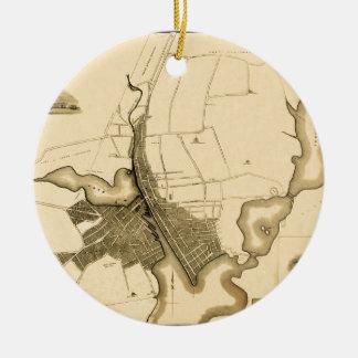 Voorzienigheid 1823 rond keramisch ornament