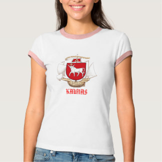 Voorzijde COA van Lietuva van Kaunas de NIEUWE T Shirt