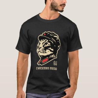 Voorzitter Meow! Geschetst T Shirt