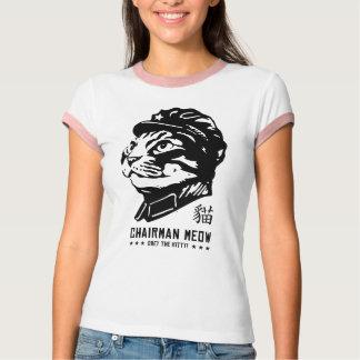 Voorzitter Meow T Shirt