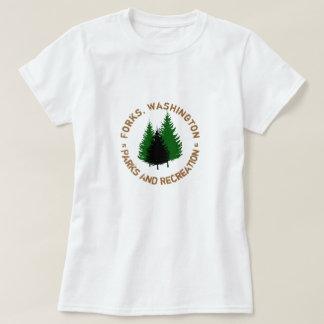 Vorken, de Parken van Washington en het Overhemd T Shirt
