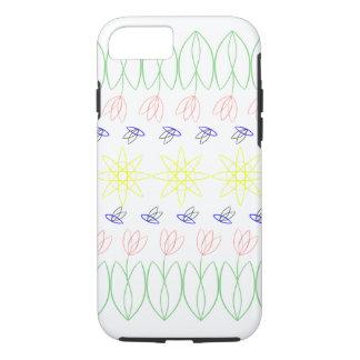 vormen van de zomer iPhone 7 hoesje