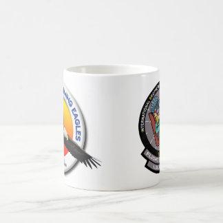Vp-1 & Emblemen IBNFE op Duidelijke Witte 15 ozMok Koffiemok