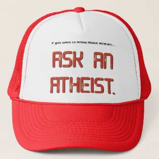 Vraag en atheïst trucker pet