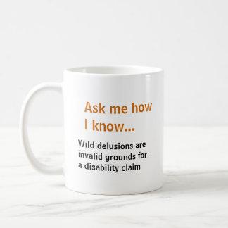 Vraag me… De waanideeën niet zet voor Koffiemok