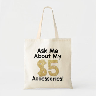 Vraag me over Mijn Canvas tas van $5 Accessoire