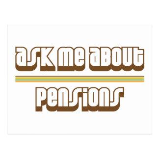 Vraag me over Pensioenen Briefkaart