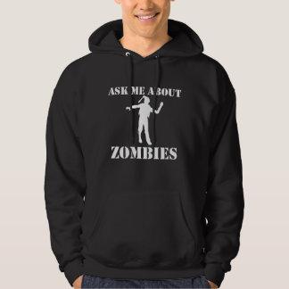 Vraag me over Zombieën Hoodie