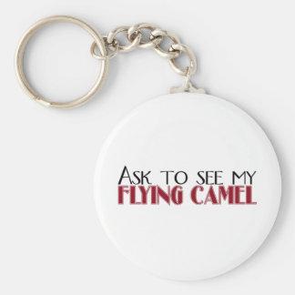 Vraag om Mijn Vliegende Kameel te zien Sleutel Hanger