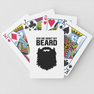 Vraag over Mijn Baard Poker Kaarten