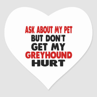 Vraag over mijn Windhond Hart Sticker