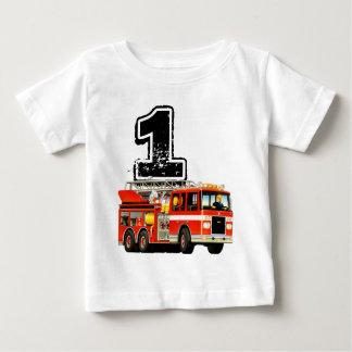 Vrachtwagen van de Brand van de Verjaardag van de Baby T Shirts