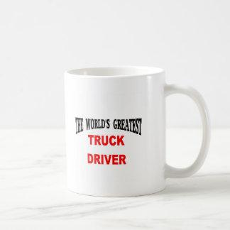 Vrachtwagenchauffeur Koffiemok